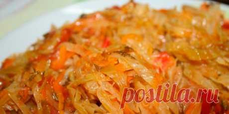 Тушеная квашеная капуста - 5 вкусных рецептов - Домашняя кулинария