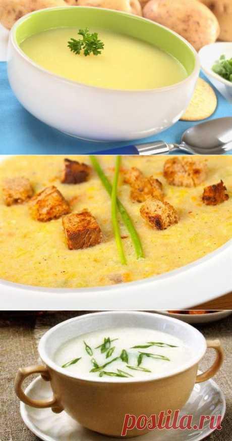 Картофельные супы-пюре: 4 рецепта интересного блюда / Простые рецепты
