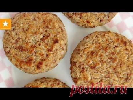 GREChANIKI - fast BUCKWHEAT CUTLETS without eggs from the Marmalade Fox \/ VEGAN BUCKWHEAT PATTIES