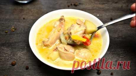 Когда мне хочется необычного супа, я готовлю его так: вкуснее не придумаешь   Готовим с Екатериной Койдой   Яндекс Дзен
