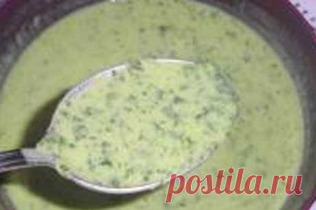 Вкусный соус к мясу на кефире с зеленью | kusoksala.ru Рецепт: Вкусный соус к мясу на кефире с зеленью Готовить этот удивительно простой и вкусный соус меня научила Марина. Спасибо за рецепт!