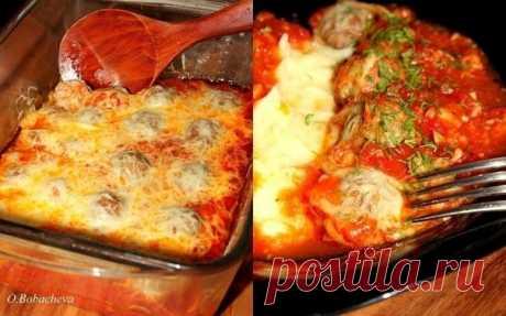 Как приготовить тефтельки из говяжьего фарша с сыром в томатном соусе - рецепт, ингридиенты и фотографии