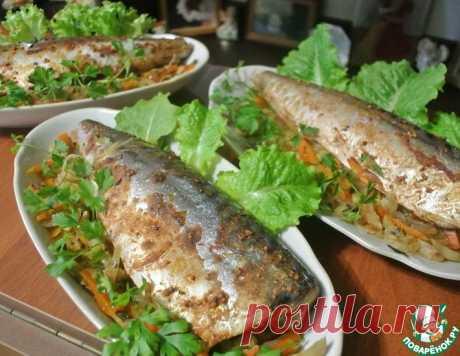 Пикантная скумбрия с овощами – кулинарный рецепт