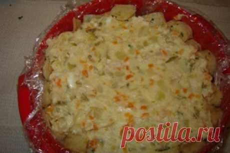 Салат «Шарлотка» / Куриные салаты / TVCook: пошаговые рецепты с фото
