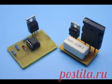 Простые схемы регуляторов тока.