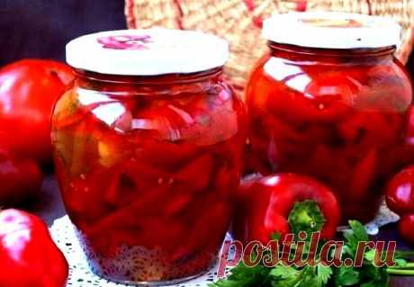 Невероятно вкусное лечо без помидоров на зиму