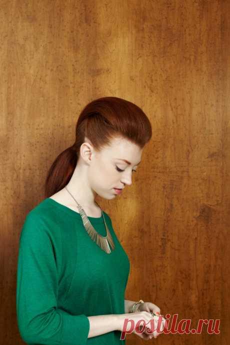 Современные причёски с начёсами (трафик) / Прически / ВТОРАЯ УЛИЦА
