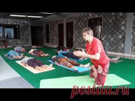 Урок йоги с подробным объяснением | Татьяна Марина - YouTube