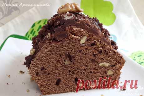 Постный шоколадно-ореховый кекс пользователя Ирина Арканникова | Портал кулинарных рецептов «Едим дома!»