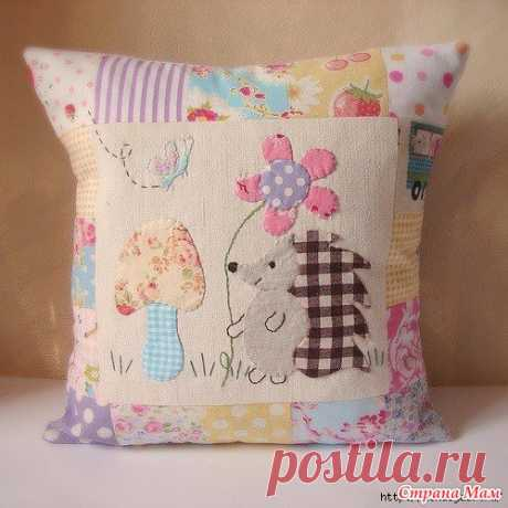We sew small pillows for children. Ideas for inspiration - Club of needlework - the Country of Mothers