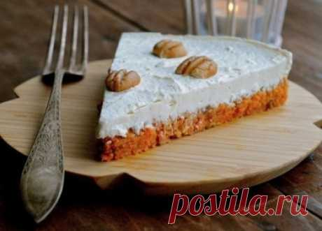 Cheesecake on a carrot basis: an improbable yum-yum with advantage for a figure! — Recipe of the culinary specialist