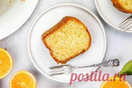 Кекс с апельсиновой цедрой рецепт с фото - 1000.menu