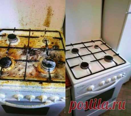 Как без труда очистить плиту от жира? 3 способа | Просто&Быстро | Яндекс Дзен