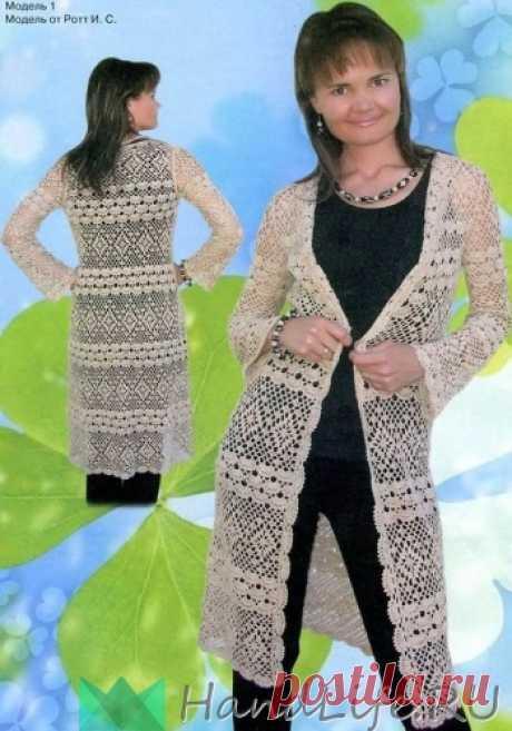 Две модели летних пальто / Вязание крючком