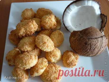Кокосовое печенье без муки и масла - всего три ингредиента!!Бомба рецепт!!