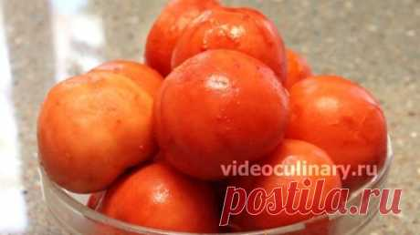 Два способа очистки помидоров от кожицы - Видеокулинария.рф