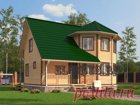 Дом «Введенский» 7-9 м. | Строительство домов из бруса