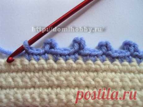 "Knitting ""пико"" different types"