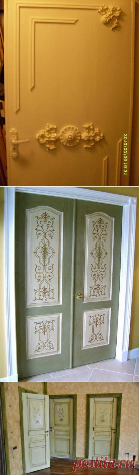 Реставрируем межкомнатные двери своими руками — Danetti.Ru