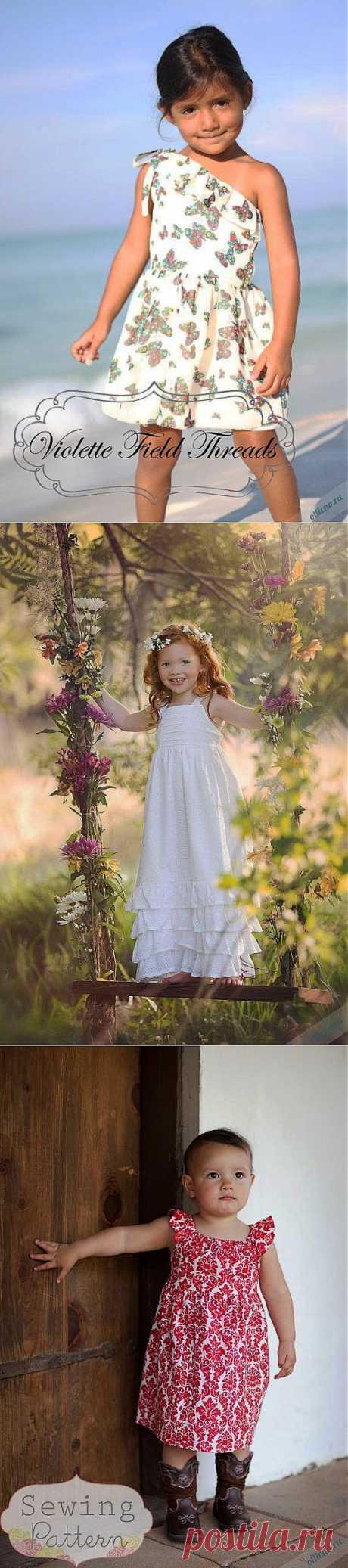 Идеи шитья летних платьев и сарафанов для девочек | Отлично! Школа моды, декора и актуального рукоделия