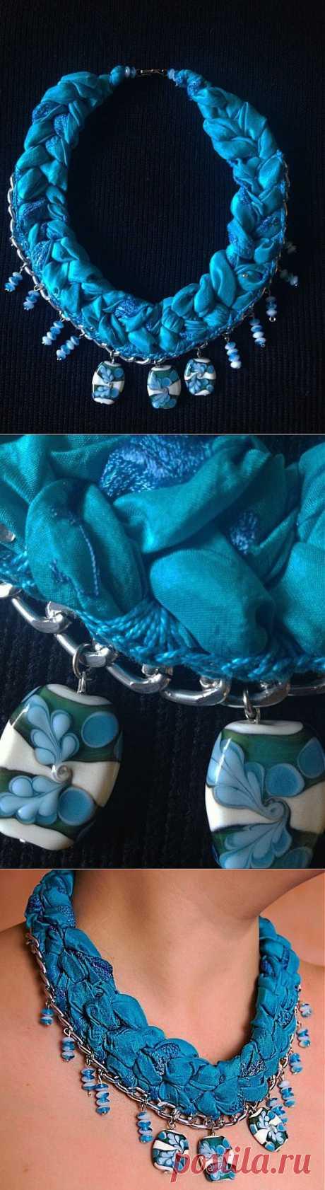 Текстильное украшение | РУКОДЕЛИЕ
