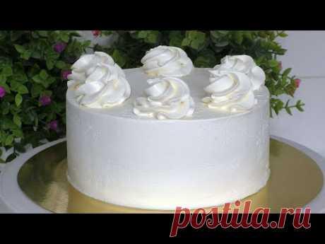 КРЕМ ГАНАШ НА БЕЛОМ ШОКОЛАДЕ Самый вкусный крем для торта Крем для покрытия торта