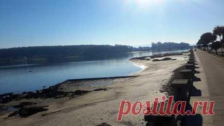 Maravilloso Paseo Marítimo en O Grove(Pontevedra)-Rías Baixas Galegas