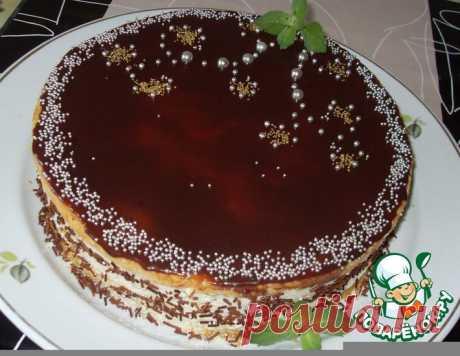 "Торт ""Птичье молоко"" – кулинарный рецепт"