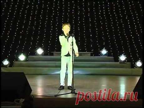 ▶ Эстрадный вокал до 9 лет 1 блок 1 песня - YouTube