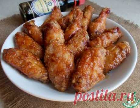 Хрустящие крылышки по-китайски – кулинарный рецепт