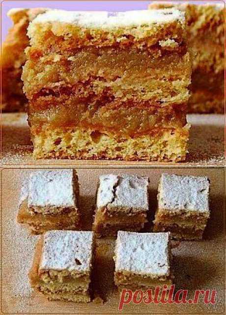 Слоеный яблочный пирог | Рецепты вкусно