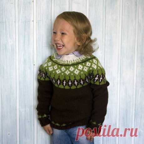 Жаккардовый свитер: ru_knitting