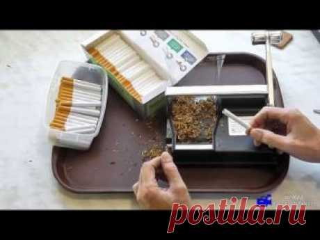 Машинка для набивки сигаретных гильз Powermatic 1+. :: VideoLike