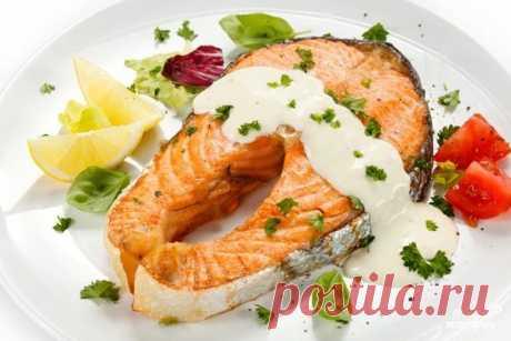 Соус к жареной семге - пошаговый рецепт с фото на Повар.ру