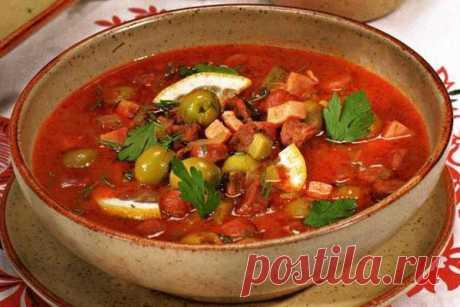 Солянка по-абхазски Приготовив солянку по абхазскому рецепту, вы сделайте ее вкус более утонченным и пряным.