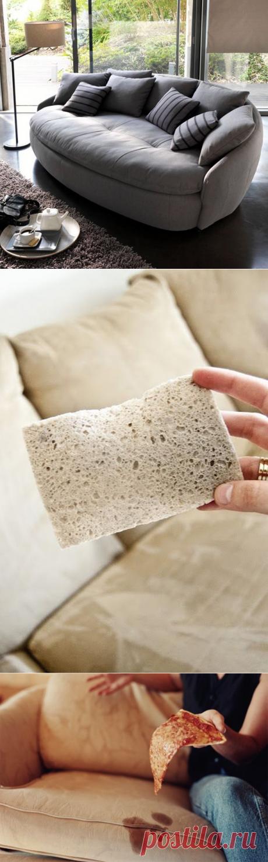 Вычищаем диван — Делимся советами