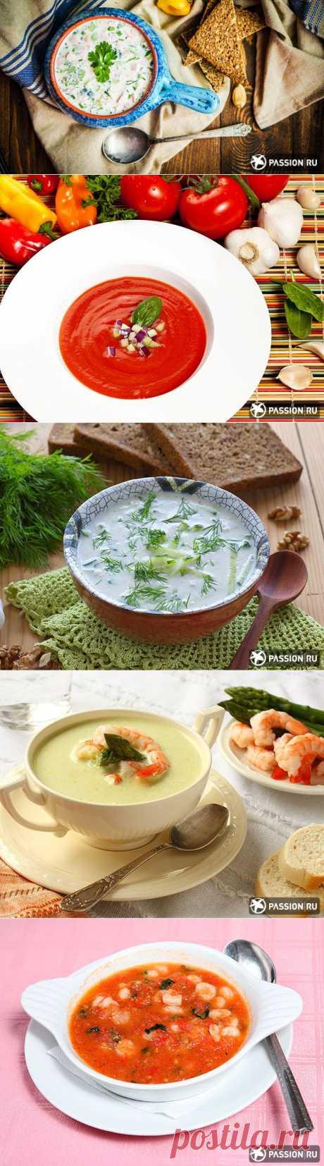 7 новых рецептов холодных супов