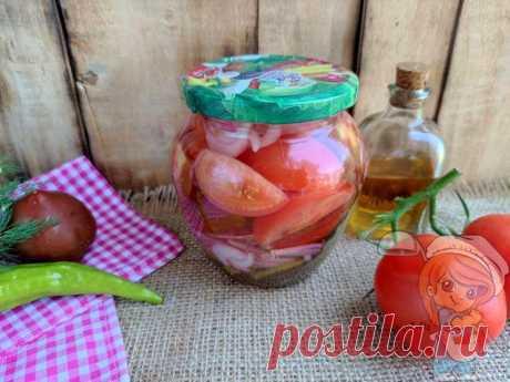 Помидоры по-фински с луком: заготовка на зиму, помидоры как свежие Надоели привычные заготовки по одному и тому же рецепту? Хочется что-то новенького? Закройте помидоры по-фински. Попробуйте новый вкус!