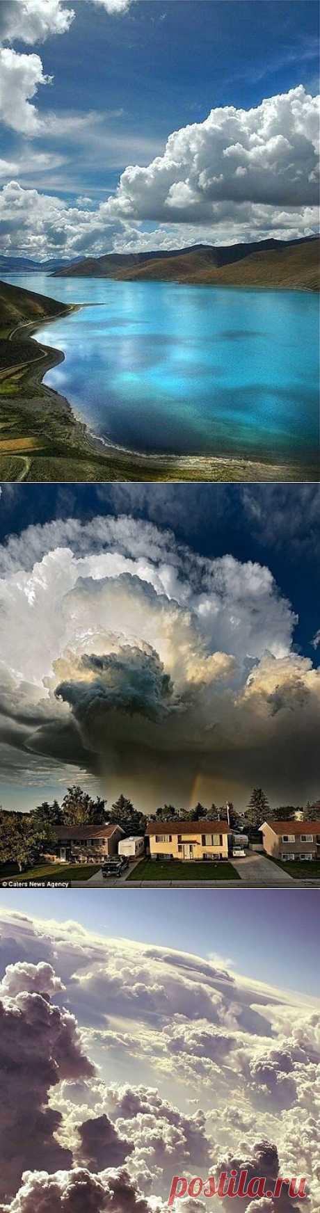 Кучерявые облака