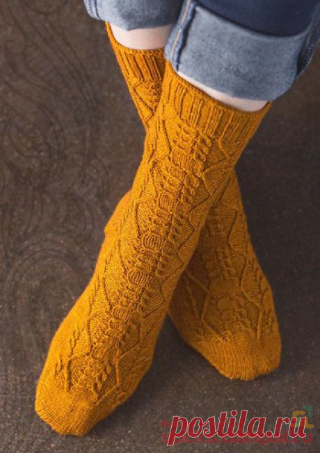 Вязаные носки «Sashay» | ВЯЗАНЫЕ НОСКИ