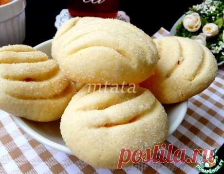 Сахарное печенье с курагой – кулинарный рецепт