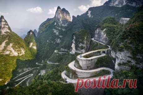 А если взглянуть на Китай с высоты? / Туристический спутник