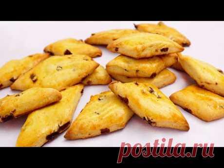 Вы приготовите их за несколько минут! Вкусное Печенье з Изюмом # 156