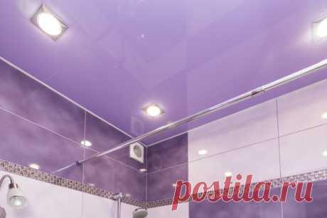 Эффективные средства для мытья глянцевых натяжных потолков без разводов