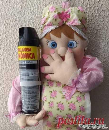 Куколка-органайзер для ванной комнаты, для туалетной бумаги