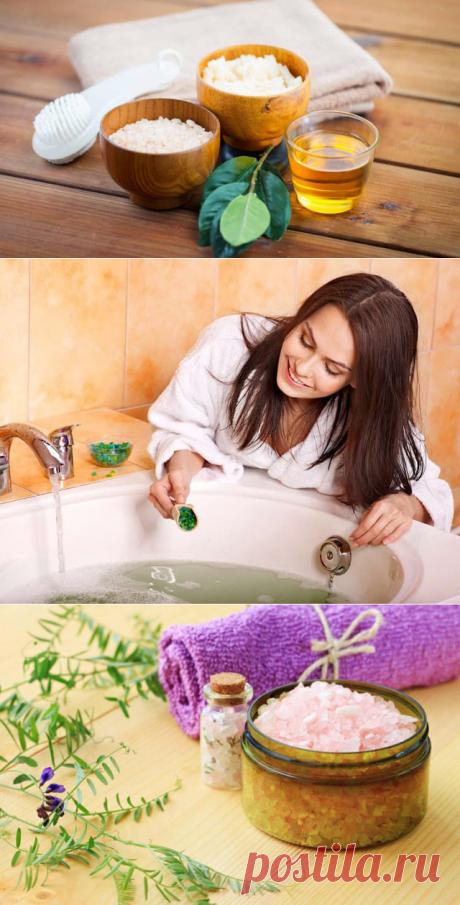 Как правильно применять соль для ванн