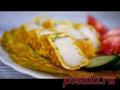 Что-то Новое! Такую ЗАКУСКУ ВЫ еще НЕ ГОТОВИЛИ | Кулинария Ингредиенты: 500 грамм филе рыбы (у меня треска); зелень; яйца; растительное масло; соль; перец.Филе нарезать на длинные полоски. Обжарить на растительном масле. Яйцо разбить, и смешать с зеленью. Вылить на разогретую сковородку. Слегка обжарить, и пока еще верх влажный выложить рыбу и...