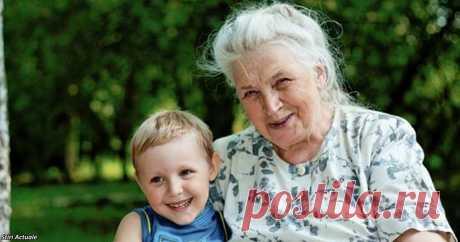 Любовь между бабушками и внуками — это навсегда!