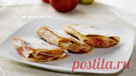 Рулеты из лаваша с яблоками и творожным сыром — Sloosh – кулинарные рецепты