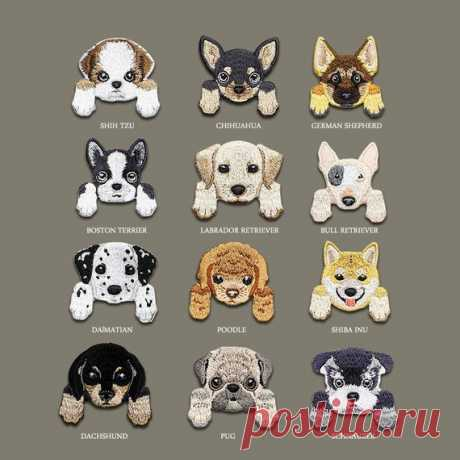 Dog patch, Animal patch, Patches, Patch, Iron on patch, Embroidered patch, Sewn on patch, Patches for jackets, Patches for backpacks, Cute patch